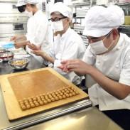 手作りのクッキー